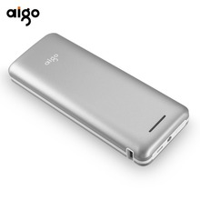 Aigo Power Bank 20000mAh External Battery Portable Mobile Phone Charger quick charge Powerbank for iPhone Xiaomi Samsung iphone