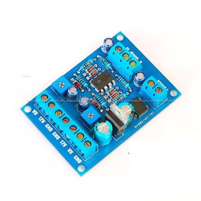 VU Meter Driver Board DB Audio Level Power Amplifier Board DIY KITS for  TA7318P DENON