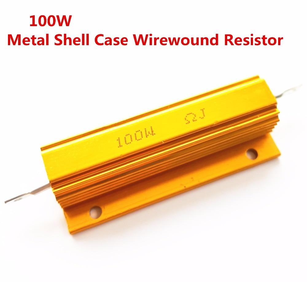 100 W 0.8 1.3 3.1 7 12 25 28 Ohm 0.8r 1.3r 3.1r 7r 12r 25r 28r Draadgewonden Aluminium Power Metal Shell Case Resistant 5% Aantrekkelijk Uiterlijk