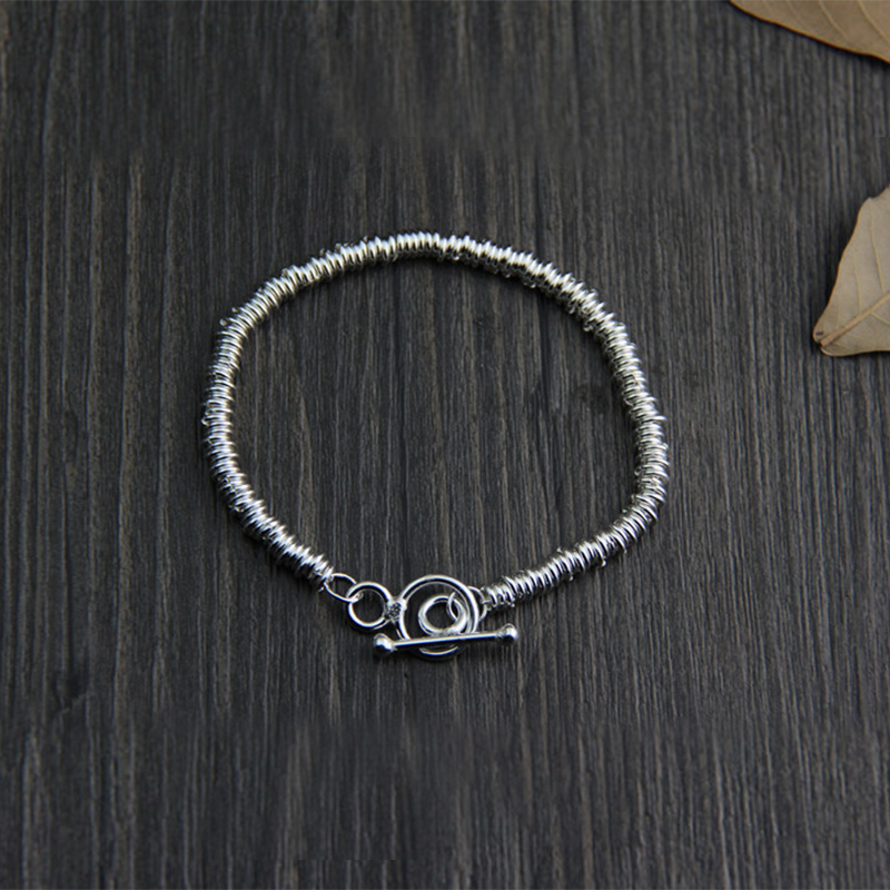 Handmade original design bracelet Thailand Chiang Mai 925 sterling silver ethnic style ladies 2018 new rushed men anel feminino chiang mai thailand handmade 925 sterling contracted temperament ring ms male food rings