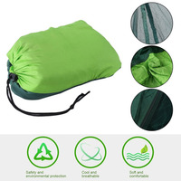 AOTU 2 Person Travel Outdoor Camping Tent Ultralight Hanging Hammock Bed With Mosquito Net Portable Parachute Cloth Hammock