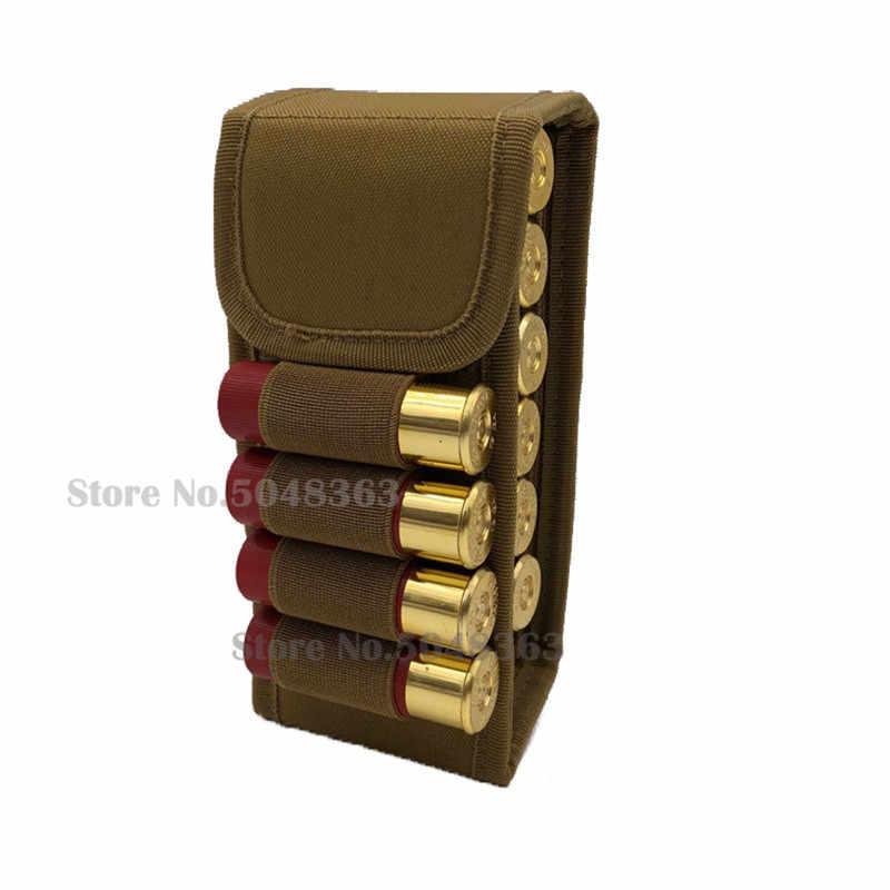 Molle 16 Round 12GA 12 Gauge Ammo Shells Shot gun Reload Magazine Pouches Foldable Mag Carrier Bag