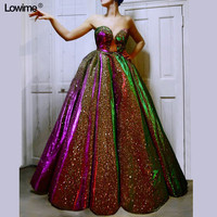 Special Design Plus Size Prom Dresses A Line Sweetheart Sleeveless Sexy Evening Prom Party Gowns Arabic Style вечернее платье