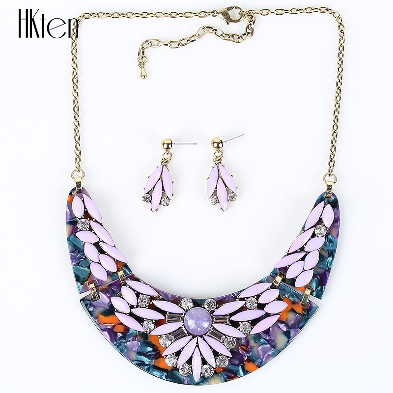 MS17575 Brand Fashion Jewelry Sets Elegant Design Woman's Necklace Set Bridal Jewelry High Quality Party Gifts New