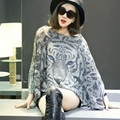 Fall And Winter Clothes New Tiger Scarves Korean Yards Short Paragraph Ms. Loose Pullover Sweater Shawl Jacket