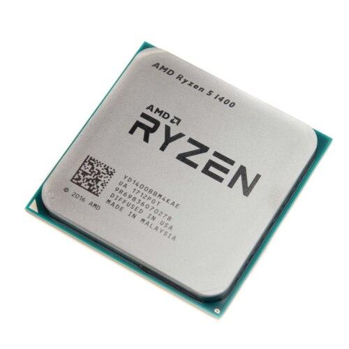 AMD Ryzen 5 1400 R5 1400 3 2GHz Quad Core CPU Processor YD1400BBM4KAE Socket AM4