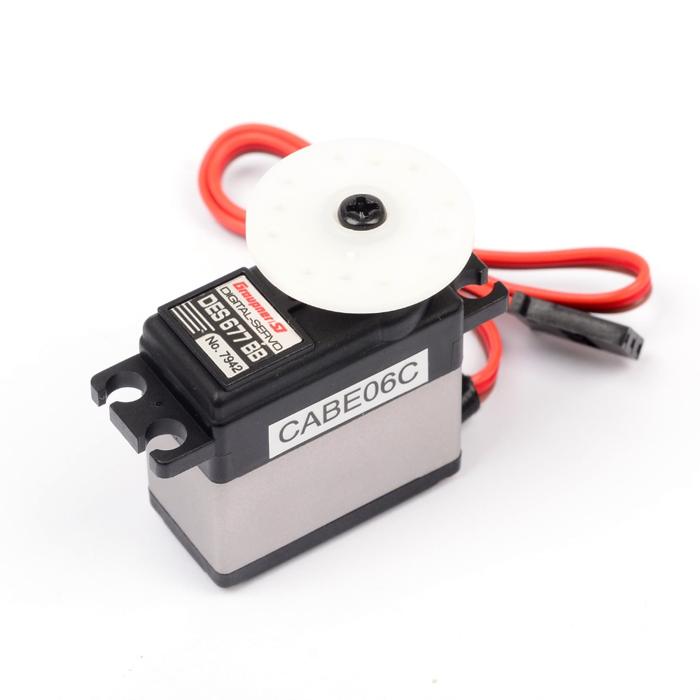 Graupner DES 677 BB High Speed 16mm Digital Servo High speed Gear High Torque Servo For RC/Helicopter/Car/Boat new spring rc sm s4315m all metal gear 15kg servo for rc car boat robot high torque dual ball bearing 15kg rc parts 1 jt fci