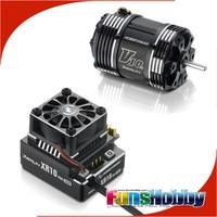 Hobbywing XR10 Pro бесколлекторный датчик ESC/V10 G3 двигатель Combo для 1/10 внедорожных топ класса конкурс