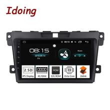 Idoing 1Din 2.5D IPS Dello Schermo Auto Android8.0 Radio Vedio Multimedia Player Fit Mazda CX-7 CX 7 CX7 4G + 32G GPS di Navigazione di Avvio Veloce
