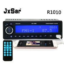 DC 12 V/24 V Auto 1 DIN Radio del Carro Del Coche Reproductor de MP3 Bluetooth (manos Libres Llamadas) música pantalla LED FM SD/TF Tarjeta USB Cargador