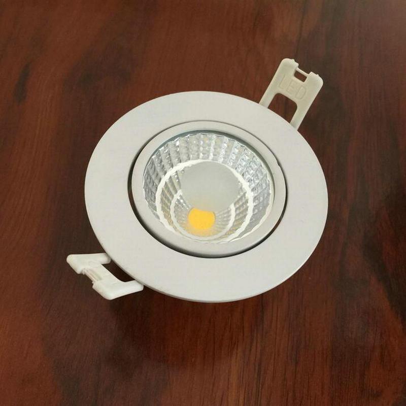 Бесплатная доставка 7 Вт затемнения фойе живой сидя встраиваемые микро миниатюрный пятна вниз свет удара светодиодные светильники 30 шт./лот