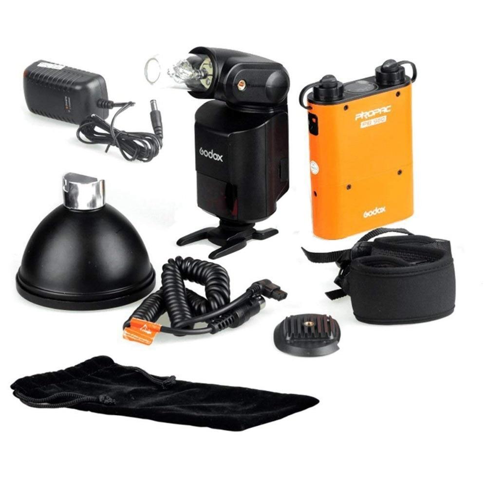 Godox Witstro AD-360 Kit Flash Portable + batterie PB960 Orange CD50