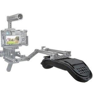 """Image 5 - NICEYRIG DSLR Shoulder Rig Camera Rig Shoulder Stabilizer Shoulder Support Video Rig Camera Video Cage Sponge Pad 1/4"""" DSLR 3/8"""""""