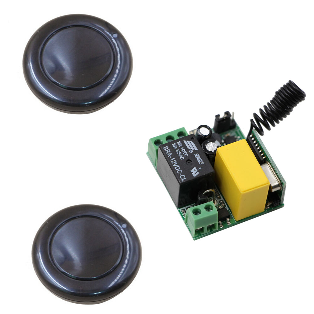 AC 220V Wireless Remote Control Switch Remote Power Switch 1CH 10A Relay Receiver Transmitter For Home Light Lamp LED Pump Motor 40km h 4 wheel electric skateboard dual motor remote wireless bluetooth control scooter hoverboard longboard