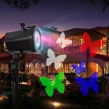 Outdoor Garden Lawn Stage Effect Light Laser Projector Waterproof Park Christmas Decorative Lamp KTV Bar Backlight Stage Lamp