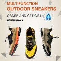 RAX Outdoor Breathable Hiking Shoes Men Lightweight Walking Trekking Wading Shoes Sport Sneakers Men Botasoutdoor