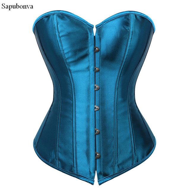 3a9c4c0a658f2 Sapubonva corselet espartilhos e corpetes overbust corset plus size sexy  tops preto vermelho rosa roxo branco