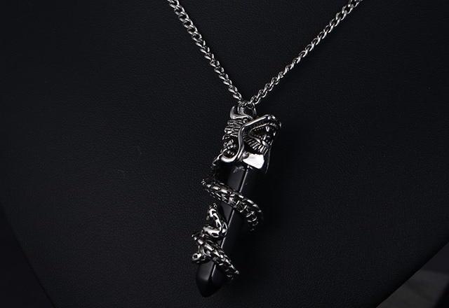 Hot sales black stone dragon pendant men choker necklaces pendants hot sales black stone dragon pendant men choker necklaces pendants mens jewelry 2017 fashion gift aloadofball Choice Image