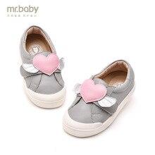 Mr. baby оригинальная детская обувь 2018 Весенняя Новинка Прекрасный Любовь повседневная обувь для девочек кроссовки