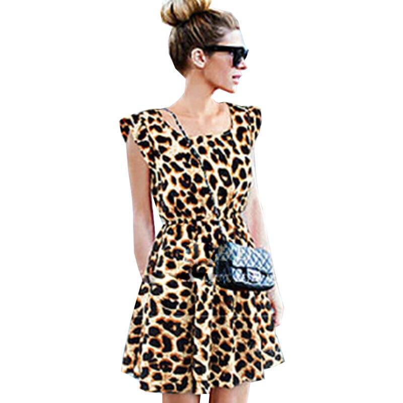 Платье леопард 2017