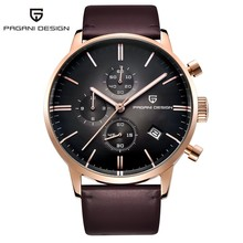 Mens Watches Top Brand Luxury Waterproof 30M Leather Sport Military Quartz Watches Men Clock Relogio Masculino/PD-2720K