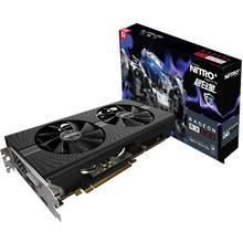 Original Sapphire Radeon Nitro + RX 580 grafikkarte RX580 8G GDDR5 grafikkarte DirectX12 2304SP 1340/7000 MHz 3 jahre garantie