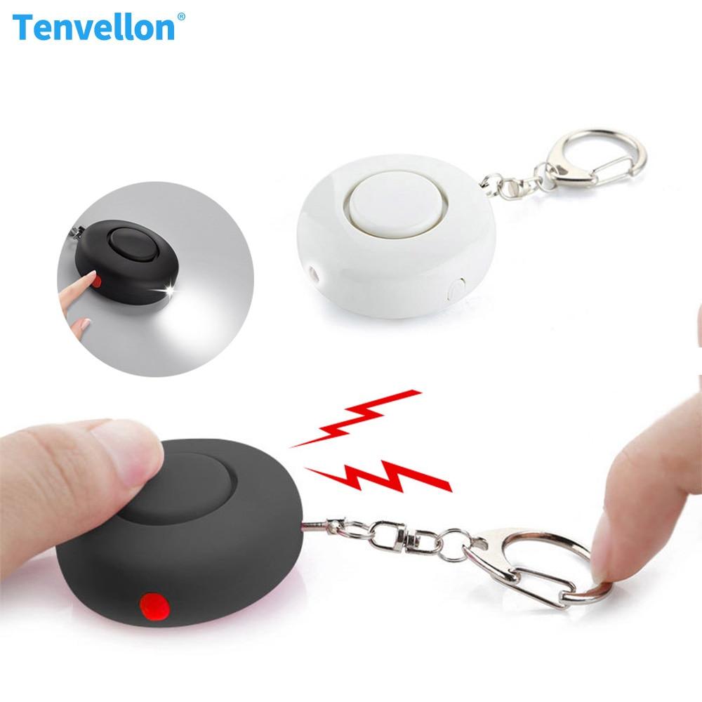 Self Defense Security Keychain Alarm defensa personal Flashlight and Emergency Alarm Security Protection Personal defense alarma