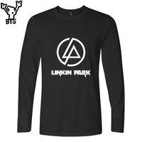 BTS Linkin Park T Shirt Boy Cotton Hoa Kỳ Tuyệt Vời Ca Sĩ Casual Tee Áo Sơ Mi Thời Trang Rock Hip Hop T-Shirt Nữ/Men T Shirt