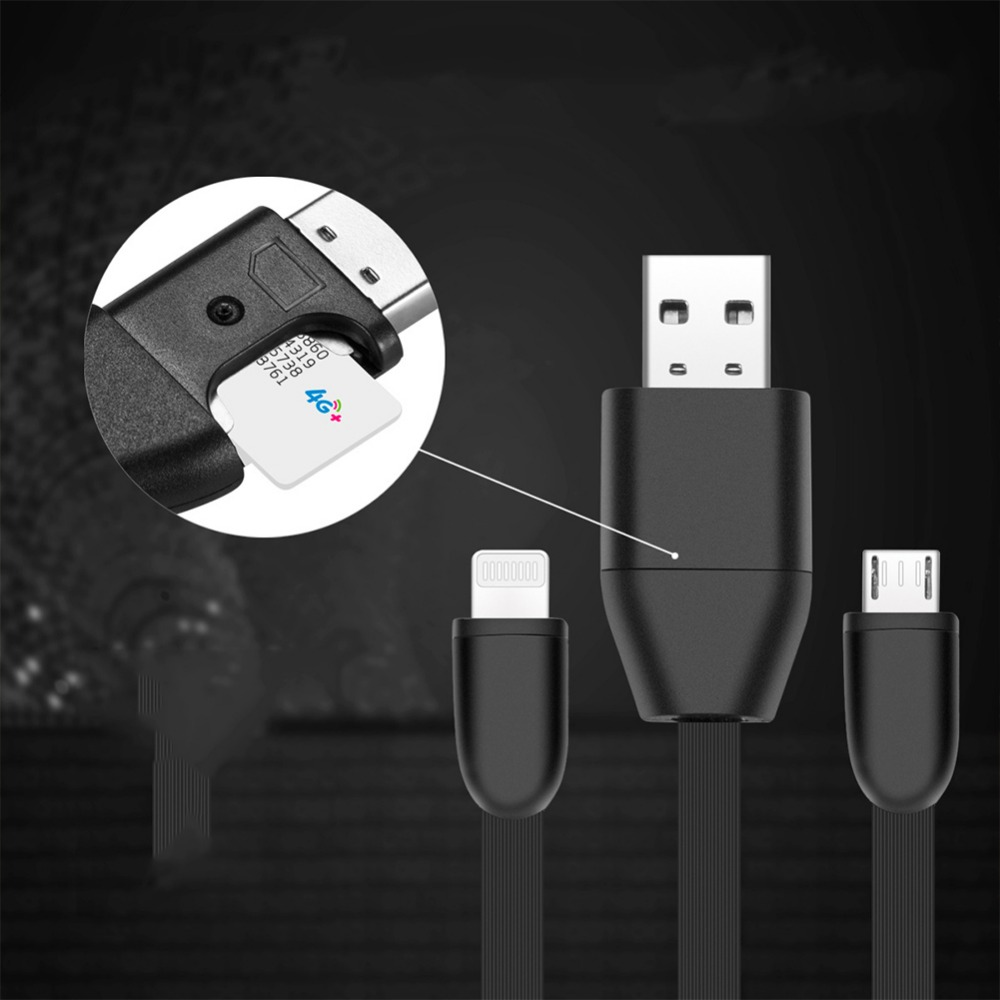 High Quality USB 2.0 A To Micro Charging Data Cable Hidden Listening Device Vehicle GPS Activity Tracker Car Locator#274963 digoo dg bb 13 mw 9 99ft 3 meter long micro usb durable charging power cable line for ip camera device