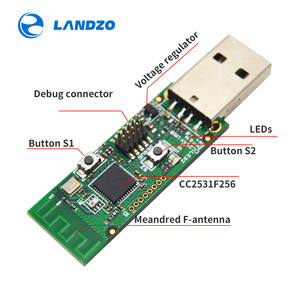 Image 5 - وحدة محلل حزمة لوحة عارية الشم لاسلكية زيجبي CC2531 وحدة USB واجهة دونغل التقاط وحدة زيجبي