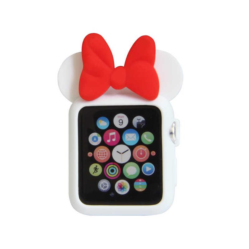 עבור אפל שעון סדרת 1 2 3 4 עכבר נשים מיני ילדה רך סיליקון מגן Case כיסוי מלא עבור 38mm 42mm 40mm 44mm