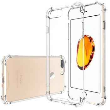 Super Anti-knock Soft TPU Transparent Clear Phone Case Protect Cover Shockproof Soft Cases For iPhone x 8 plus 7 6 5s