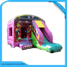 6X5M 0.55 mm PVC Tarpaulin Amusement Park Inflatable Bouncer Castle / Bounce House