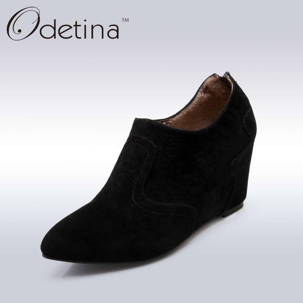 Online Get Cheap Black Suede Ankle Boots -Aliexpress.com   Alibaba ...