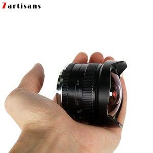 Image 5 - 7 artesanatos 7.5mm f2.8 lentes de peixe, 180 APS C lentes fixas manuais para e montagem canon EOS M mount fuji fx venda quente montagem frete grátis
