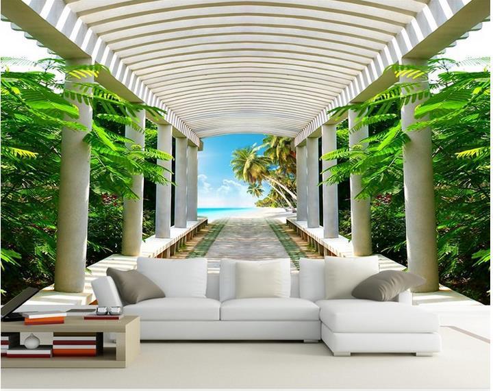 Freies verschiffen Moderne wand 3d wandbilder wallpaper, Zimmer raum expansion 3D wandbild für