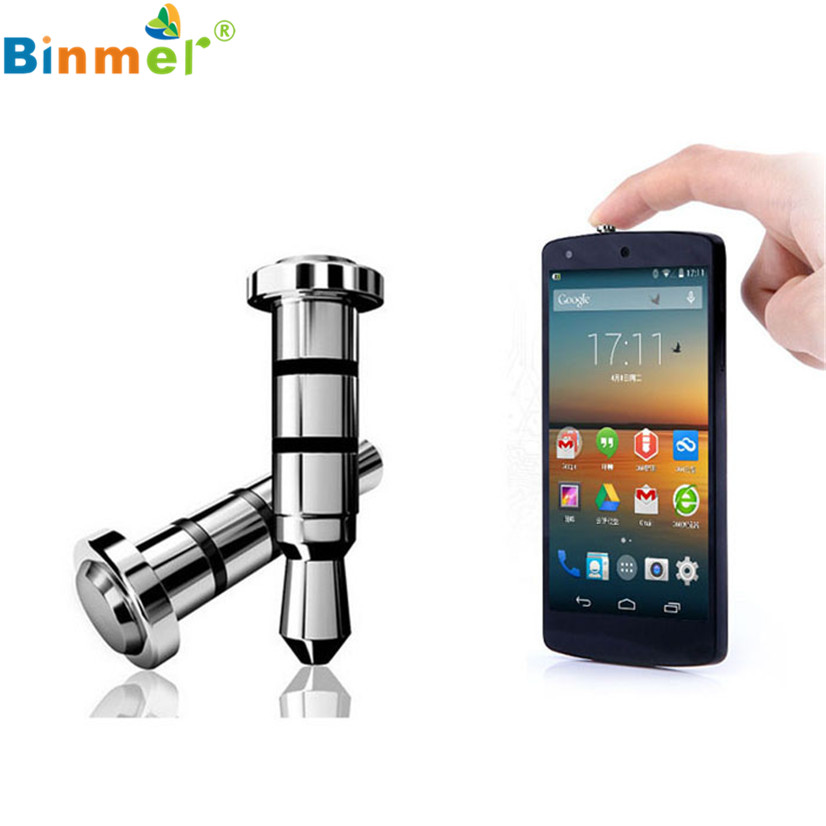 Factory Price Binmer New 2PC Click Quick iKey Press Button Dust Plug for Android OS APP Shortcut Smart shortcuts Free Shipping