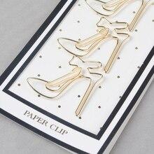 Хороший подарок для студентов Модные Офисные аксессуары Красивые, бумажные зажимы самолет звезда лук скрепки