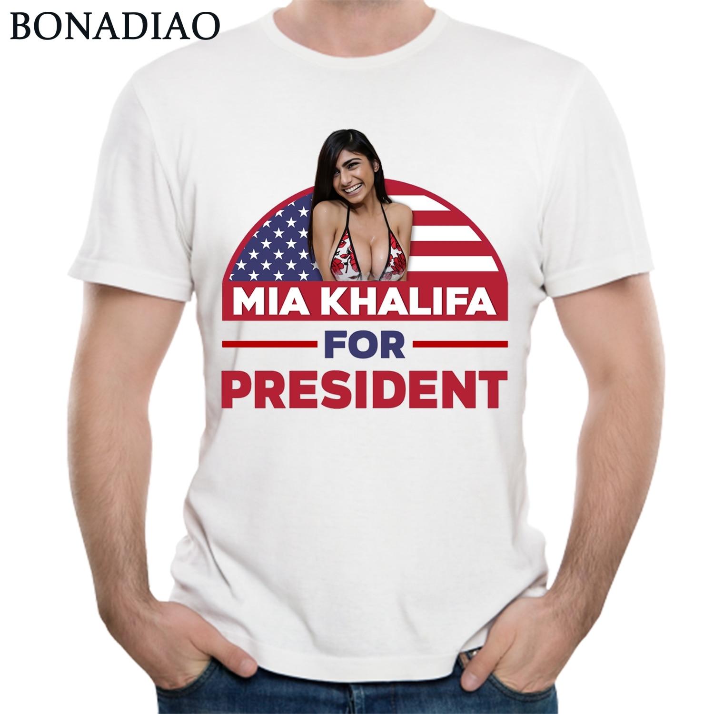 Mia khalifa for president shirt sexy porn star tees for man summer cotton  shirt jpg 1500x1500 718f0ef8051e