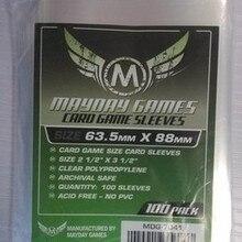 2 упаковки/лот Mayday карточная игра рукав для 63,5*88 мм для MTG магия сбор карты протектор чехол-рукав для настольной игры 7041