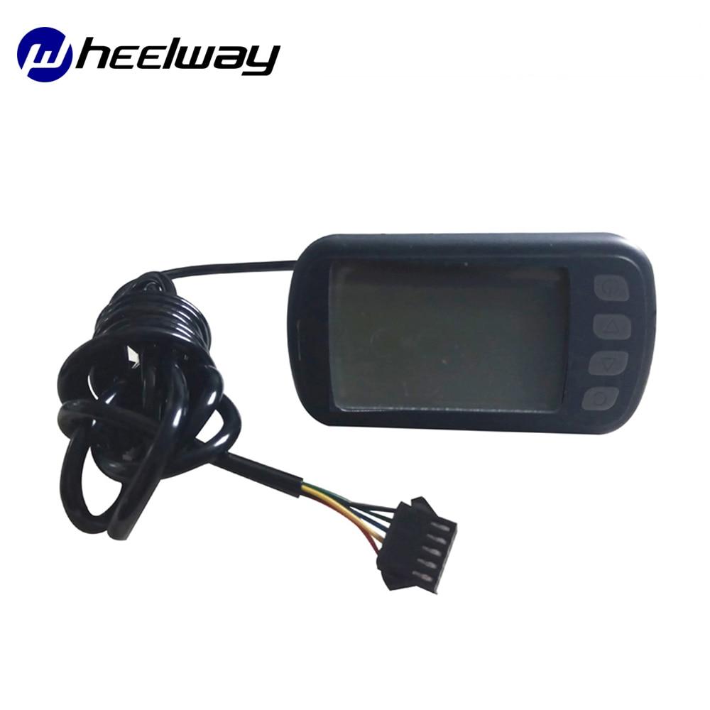 1* 36//48V S830 E-Bike Waterproof LCD Display Screen For Electric Bicycle