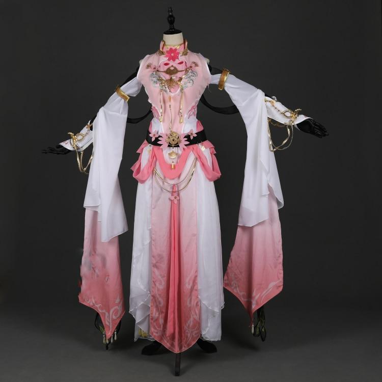 Jian Xia Qing Yuan jeu d'ordinateur Anime Cosplay Costume Hanfu Yan Yun Jian Wang III adulte femelle Qi Xiu groupe vêtements féminins