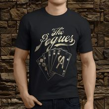 510ed0f2 New The Pogues Pogue Mahone Rock Band Men's Black T-Shirt Size S-3XL