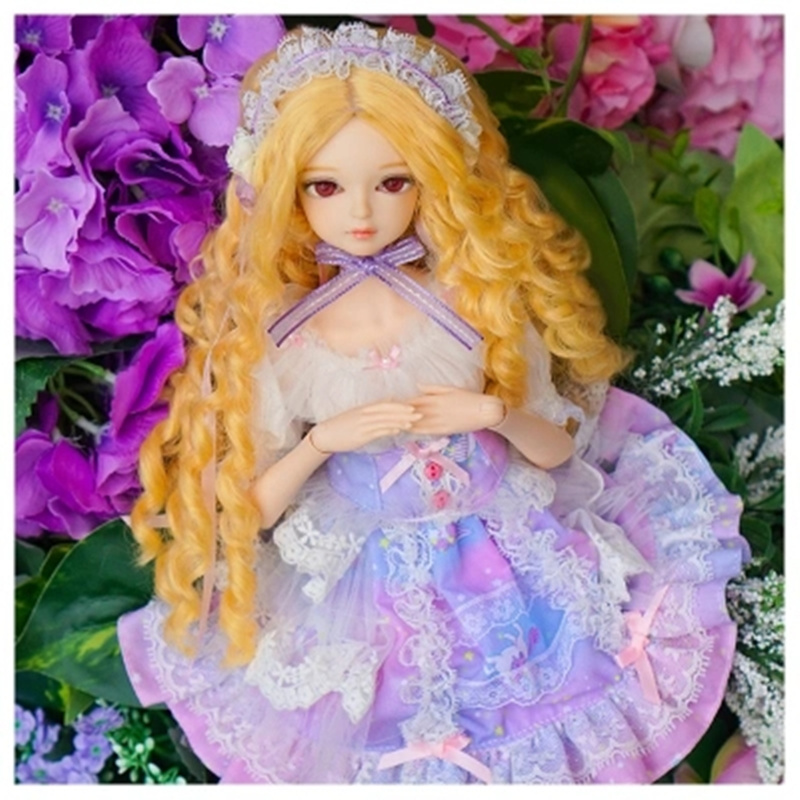 купить Fortune Days 1/4 MMGIRL BJD DOLL joint body with makeup reborn girls eye Fashion blonde princess set Blyth dolls for gril toy по цене 7044.54 рублей