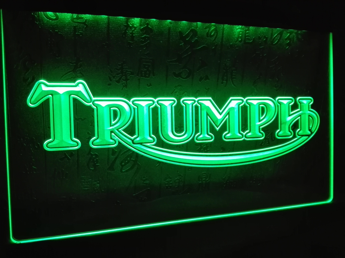 compare prices on triumph neon sign- online shopping/buy low price