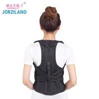 JORZILANO Unisex Adult Back Posture Corrector Shoulder Lumbar pain Brace Spine Support Belt Adjustable Corset Body Healthy care