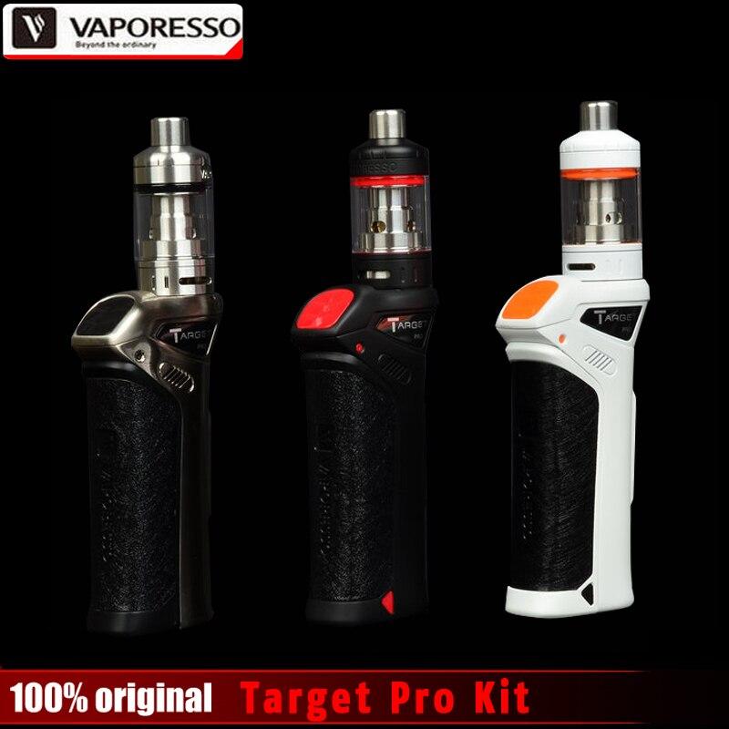 оригинальный vaporesso целевой про комплект 75 вт контроля температуры поле мод ВТЦ комплект 2.5 мл вапоризатора обновления целевой 75 вт электронная сигарета