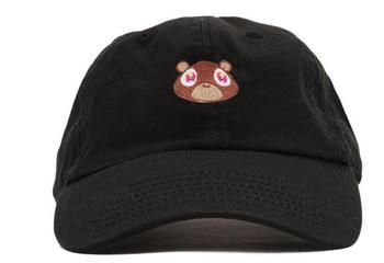 Dad Hat Kanye West Ye Bear Baseball Cap Fashion Summer Men Women Snapback Unisex Exclusive Release Hip Hop Hot Style Hats 1