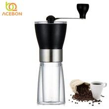 Manuel Seramik Kahve Değirmeni Yıkanabilir ABS Seramik çekirdek Paslanmaz Çelik Ev Mutfak Mini ACEBON tarafından Manuel El Kahve...
