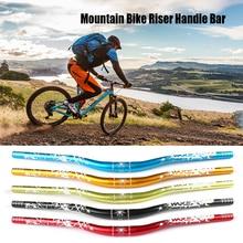 Manillar de bicicleta Riser de la barra de la manija de aluminio de aleación de montaña MTB bicicleta de carretera Barra de la manija piezas de bicicleta